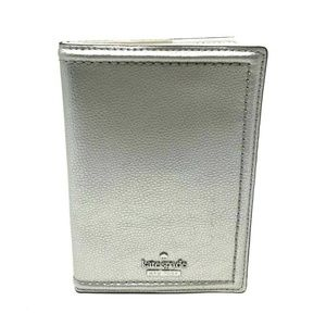 Kate Spade Patterson Drive Silver Passport Wallet